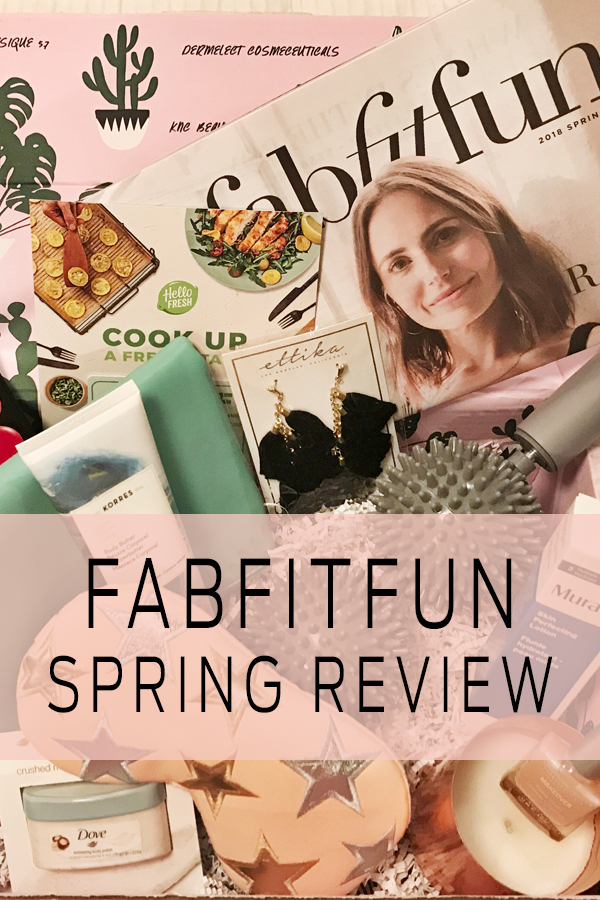 FAB FIT FUN Spring 2018 Box Review - Hey Nashville
